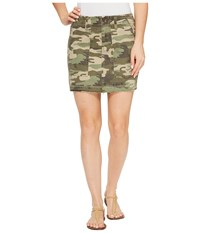 Sanctuary Safari Camo Skirt Safaricamo Women's Skirt Animal Print
