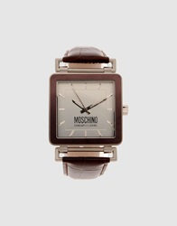 Moschino Cheap And Chic Moschino Cheapandchic Wrist Watches Dark Brown