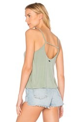 Obey Front Street Tank Sage