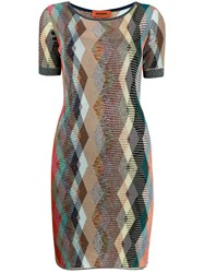 Missoni Glitter Argyle Dress 60