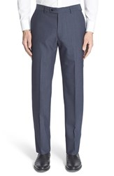 Men's John Varvatos Star Usa Flat Front Houndstooth Wool Blend Trousers