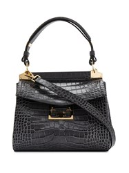 Givenchy Mystic Embossed Crocodile Effect Tote 60
