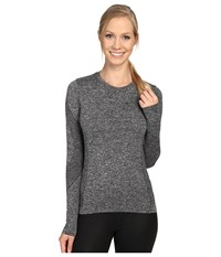 Spyder Runner L S Top Black 1 Women's Long Sleeve Pullover