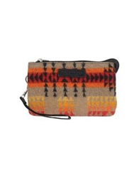 Pendleton Small Fabric Bags Beige
