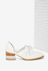 Nasty Gal Jeffrey Campbell Radwell Cutout Leather Oxford
