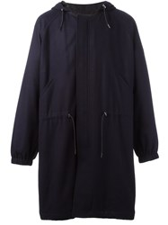 Tomorrowland Hooded Coat Blue