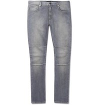 Belstaff Tattenhall Skinny Fit Stretch Denim Jeans Gray