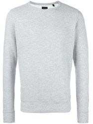 Diesel Crew Neck Sweatshirt Grey