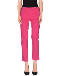 U.S. Polo Assn. U.S.Polo Assn. Trousers Casual Trousers Women Fuchsia