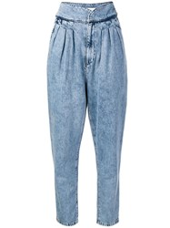 Iro High Waisted Jeans Blue