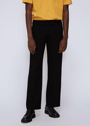 Wales Bonner 'S Tailored Trouser Pants In Black Size 48 Viscose Wool