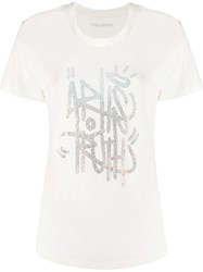 Zadig And Voltaire Azedi Jormi Strass T Shirt 60