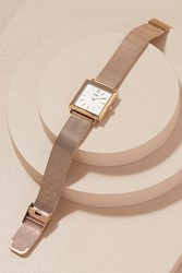 Anthropologie Henry London Christelle Floral Watch Navy