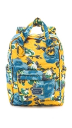 Marc By Marc Jacobs Pretty Nylon Jerrie Rose Preppy Knapsack Yellow Jacket