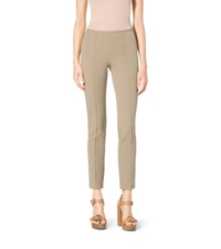 Michael Kors Stretch Cotton Twill Skinny Pants Sand