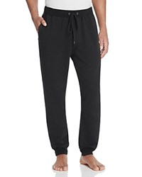 Daniel Buchler Stretch Cotton Lounge Pants Black