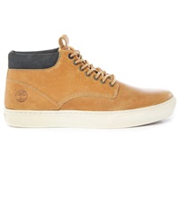 Timberland Camel Grained Leather Cupsole Chukka