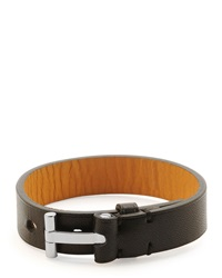 Tom Ford Nashville Men's Leather Bracelet Black