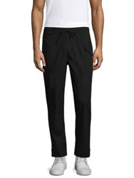 Ovadia And Sons Drawstring Cotton Pants Black