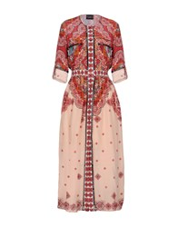 Atos Lombardini Long Dresses Red