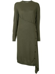 Ports 1961 Knitted Wrap Tunic Green