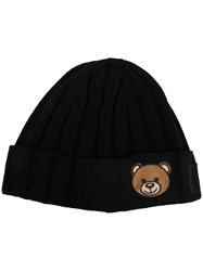 Moschino Teddy Bear Beanie Black