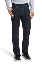 Vigoss Men's Slim Straight Leg Jeans Dark Rinse