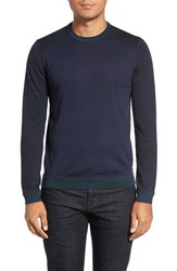 Ted Baker Men's London 'Cambell' Crewneck Sweater Navy