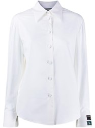 Gucci Logo Patch Tailored Shirt White