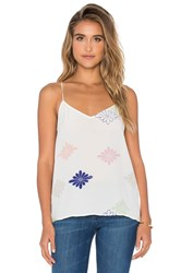 Equipment Layla Floral Cami White