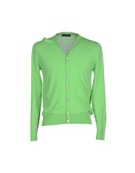 Ballantyne Knitwear Cardigans Men Acid Green