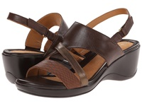Naturalizer Tenor Oxford Brown Banana Bridal Leather Moda Bronze Metallic Women's Sandals