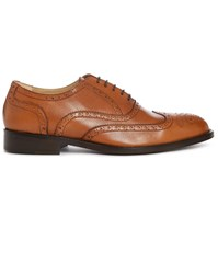 Estime Cognac Km 5 Leather Brogues Brown