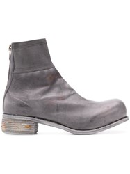 A Diciannoveventitre D30 Ankle Boots Grey