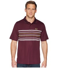 Cinch Athletic Tech Polo Burgundy 1 Short Sleeve Pullover