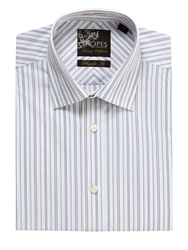 Skopes Plain Tailored Fit Formal Shirt White
