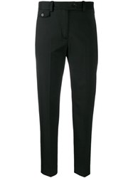 Calvin Klein Slim Fit Trousers Black