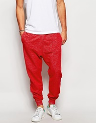 Hollister Cuffed Jogger Red