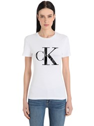 Calvin Klein Jeans Fitted True Icon Jersey T Shirt