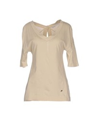 Fairly T Shirts Beige