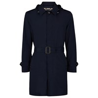Aquascutum London Ossett Lightweight Raincoat Navy