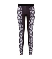 Monreal Floral Leggings Female Black
