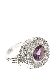 Jade Jagger Skull Cocktail Ring Neutral