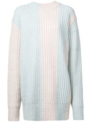 Calvin Klein 205W39nyc Knitted Sweater Blue