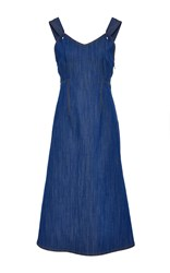 Adam By Adam Lippes Denim Tank Dress Blue