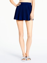 Kate Spade Georgica Beach Cover Up Skirt Rich Navy