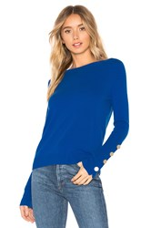 Autumn Cashmere Boatneck Sweater Blue