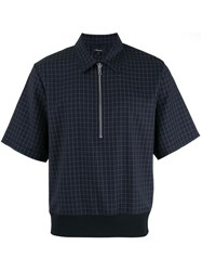 3.1 Phillip Lim Checked Shirt Black