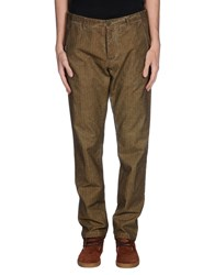 M.Grifoni Denim Trousers Casual Trousers Men Brown