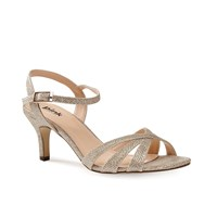 Paradox London Pink Shelby Strappy Glitter Sandals Metallic